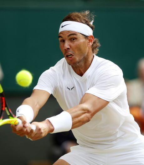 Nadal ziet af van Wimbledon en Olympische Spelen: 'Naar mijn lichaam geluisterd'