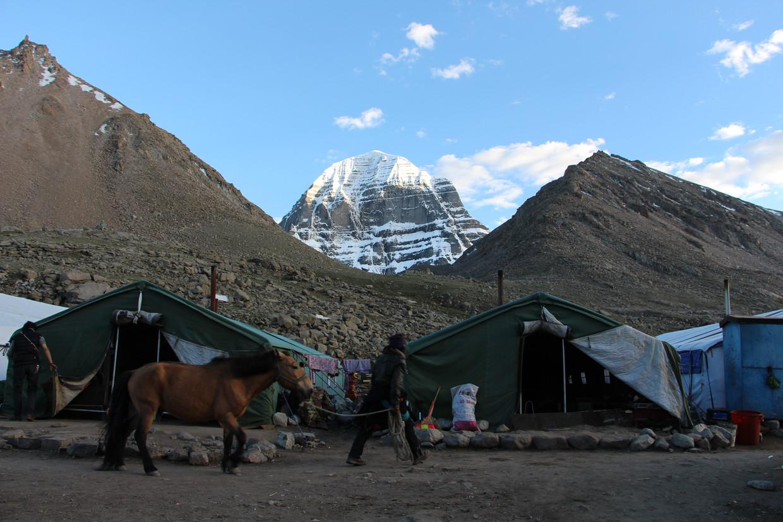 Zicht op Mount Kailash.  Beeld RV