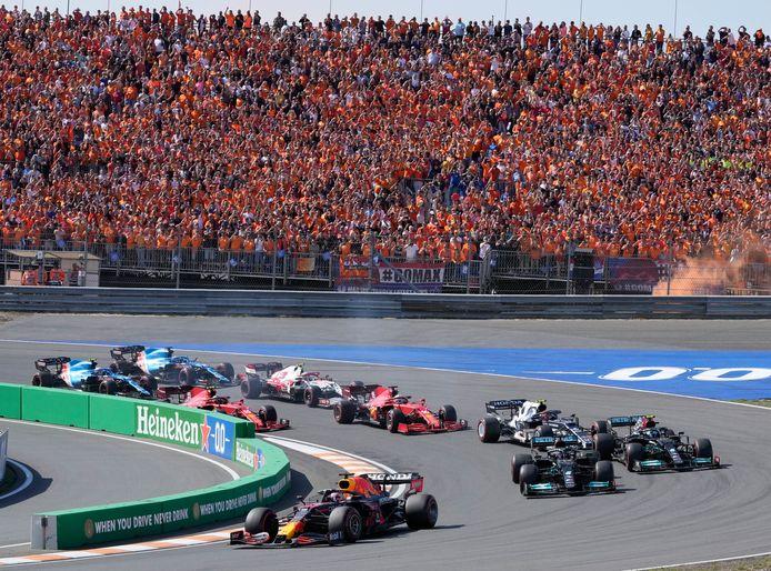 Max Verstappen zegevierde gisteren bij de Dutch Grand Prix.