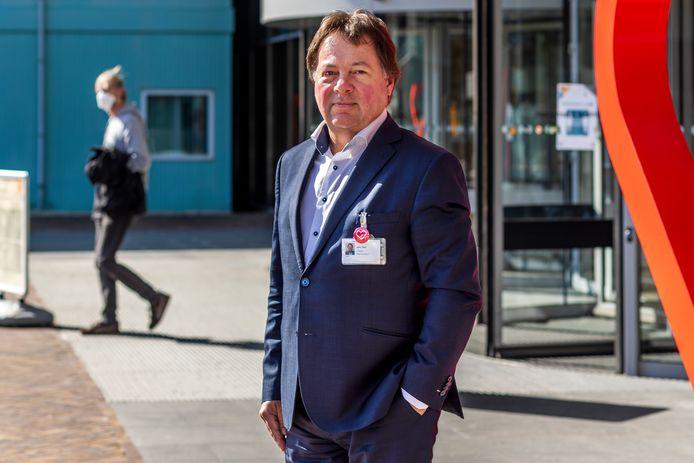 John Taks, voorzitter van de raad van bestuur van het Diakonessenhuis.