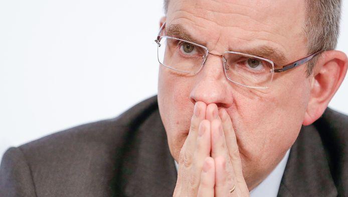 Minister van Financiën Koen Geens