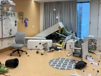 Zwitserse tieners richten voor 100.000 euro schade aan in klaslokalen