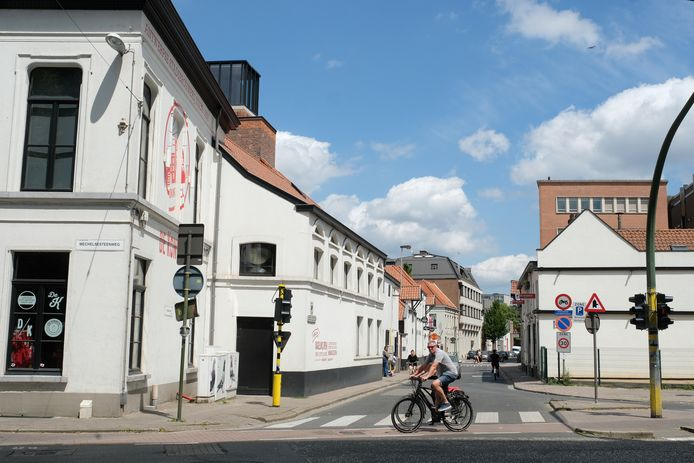 De Boomgaardstraat in Berchem.