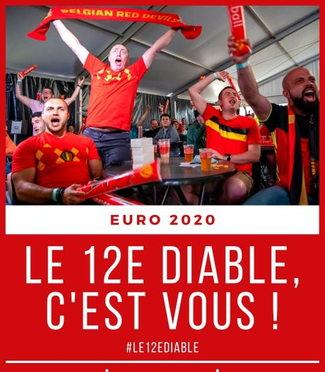 #Le12eDiable, c'est vous: partagez vos émotions devant Danemark-Belgique