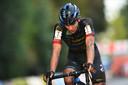 Thibau Nys reed afgelopen zaterdag de Ethias-cross in Lokeren bij de profs. Doet hij dat doorheen het seizoen nog eens, scoort hij enkel punten volgens de puntenverdeling van de elite.