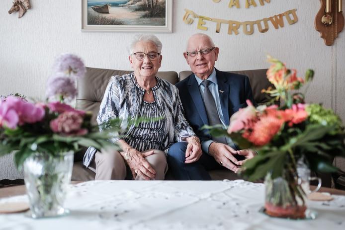 An en Ben Schoot zijn al 65 jaar gelukkig met elkaar.