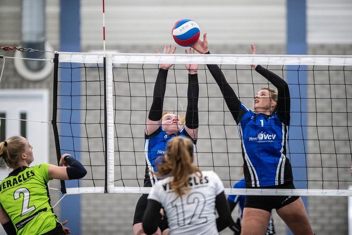 De volleybalcompetitie wordt weer niet afgemaakt.