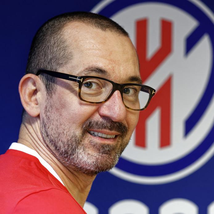 Jean-Marc Jaumin begint aan zijn eerste jaar als coach van Heroes Den Bosch.