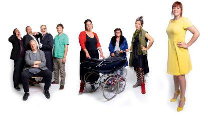 Toneelgroep Prutske brengt de komedie 'Bendeke Troep', een 2.0-versie van het stuk uit 1991