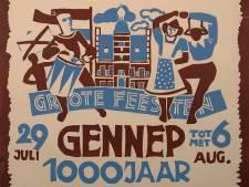 In 1950 was het groot feest in Gennep: het stadje bestond 1000 jaar