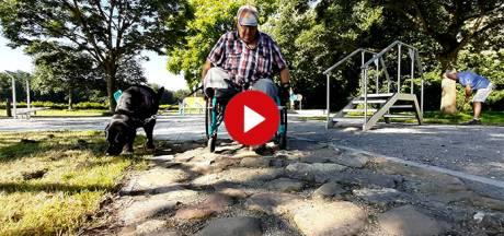 Video van de Dag | Met je rolstoel over een zandstrand, helling, of door het grind? Er is nu een oefenpark in Zeewolde