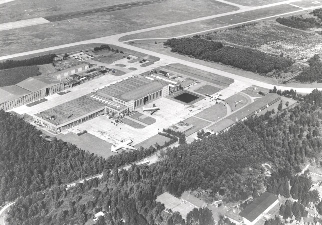 De Aviolandafabriek in Hoogerheide anno 1964.