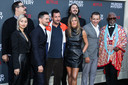 """Les acteurs du film """"Murder Mystery"""", le 10 juin 2019, à Los Angeles."""