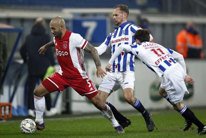 Klaiber speelde gisteren zijn elfde wedstrijd voor Ajax.