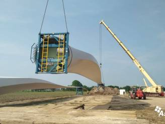 Bouw nieuwe windmolen langs E19 gestart