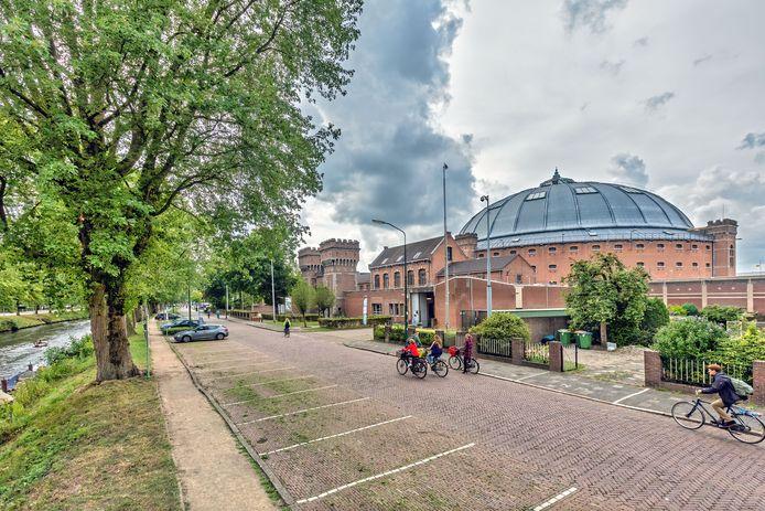 De voormalige Koepelgevangenis aan de Nassausingel in Breda.