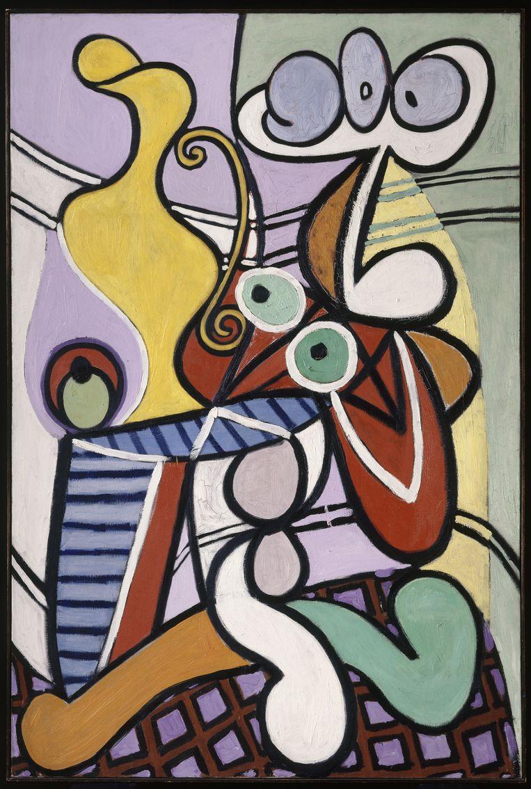Picasso, GRande nature morte au guéridon. Beeld