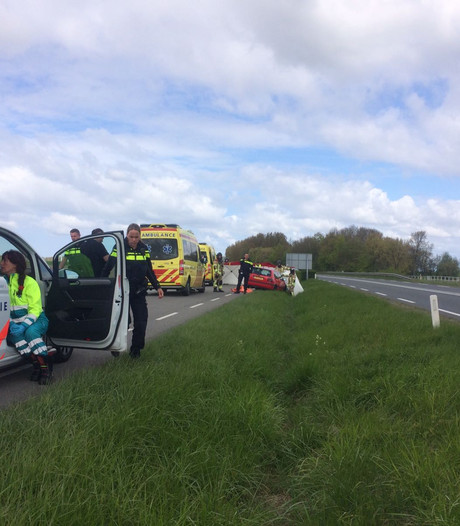 Wielrenner dodelijk verongelukt op Deltaweg