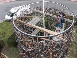 """Verhuis van fietsenmonument vannacht wordt technisch huzarenstukje: """"We laden het in zijn geheel op de vrachtwagen"""""""