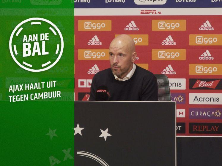 Ajax verplettert Cambuur: 'Er staat geen maat op dit Ajax'