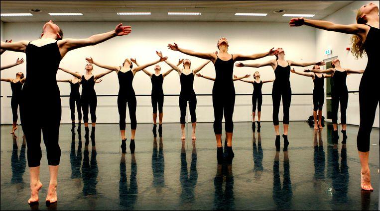 Open dag van Rotterdamse Dansacademie. Beeld ANP
