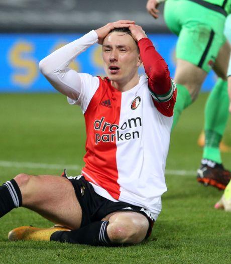 Feyenoord ziet rivalen weglopen: 'AZ voetbalt makkelijk, wij zwoegen en werken hard'