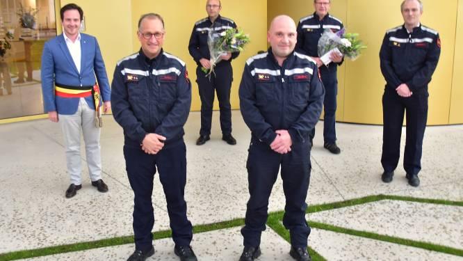 """Wim en Bob vervangen Toon en Johan als postoverste brandweer: """"Mooie uitdaging voor onze hechte groep"""""""
