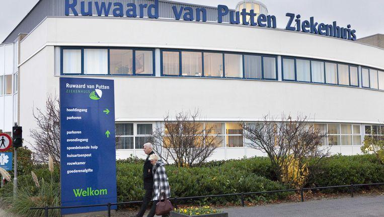Het Ruwaard van Putten-ziekenhuis Beeld ANP