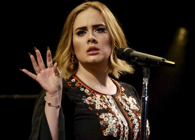 Adele, hier tijdens een optreden in 2019. Beeld BRUNO PRESS