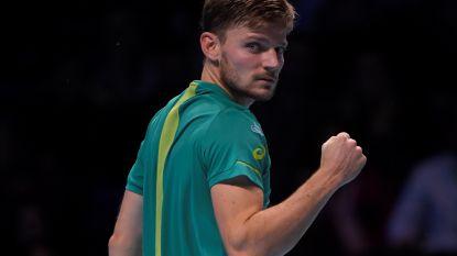 """Ook buitenlandse pers onder de indruk van Goffin: """"Leek er bij momenten op alsof hij zich spaarde voor Davis Cup"""""""