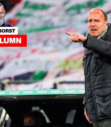 Het had voor de hand gelegen als Emmen trainer Dick Lukkien had ontslagen