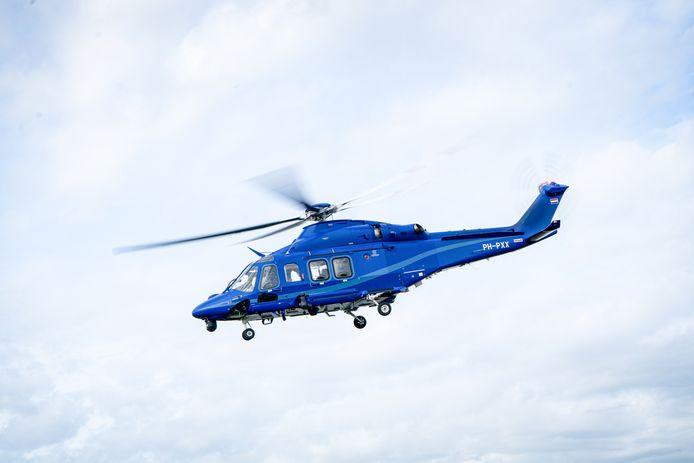 Een politiehelikopter. Foto ter illustratie.