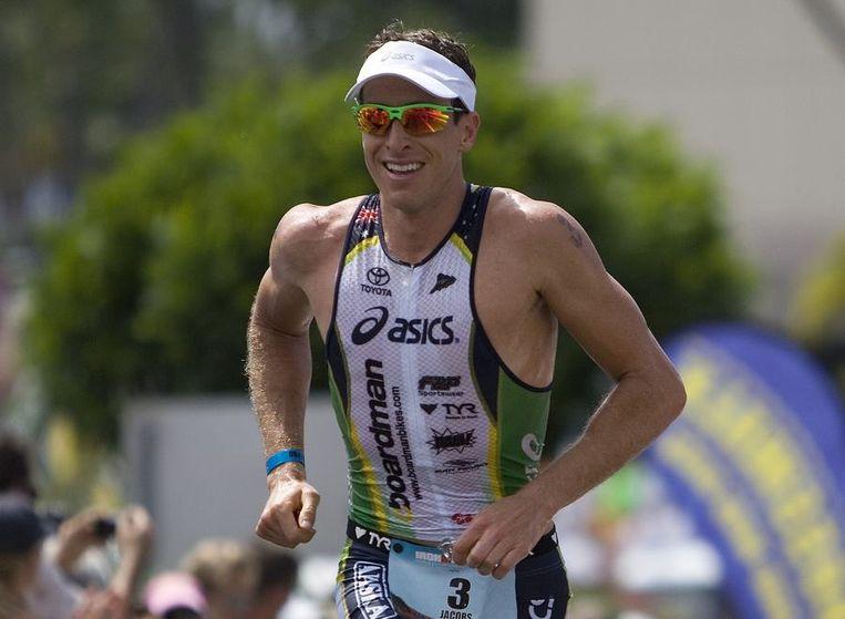 De Australiër Pete Jacobs won. Beeld REUTERS