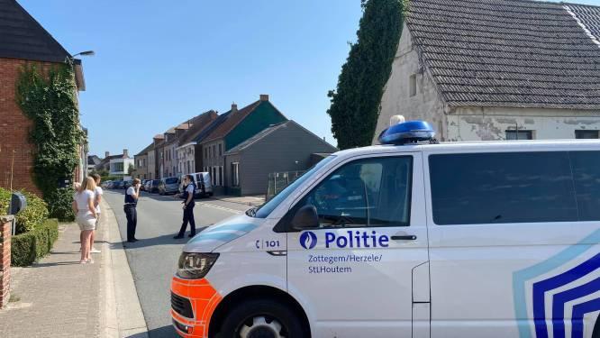 Steenstraat in Lede al bijna 4 uur afgesloten na melding gewapend persoon