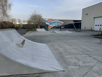 Skatestraat in Dahlialaan en Drongendreef