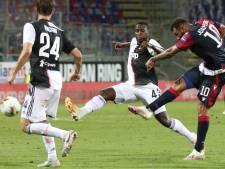 Daouda Peeters fait ses débuts avec la Juventus, battue à Cagliari