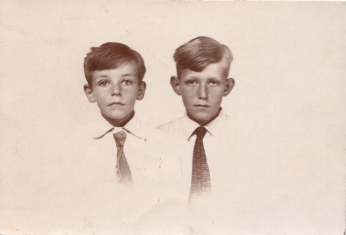 Herman van Daalhoff en zijn broer Theo.