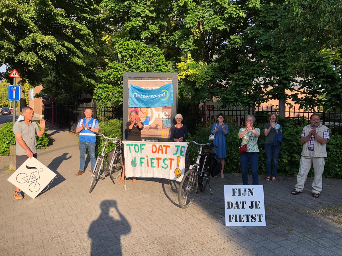 De applausactie van Fietsersbond Regio Turnhout