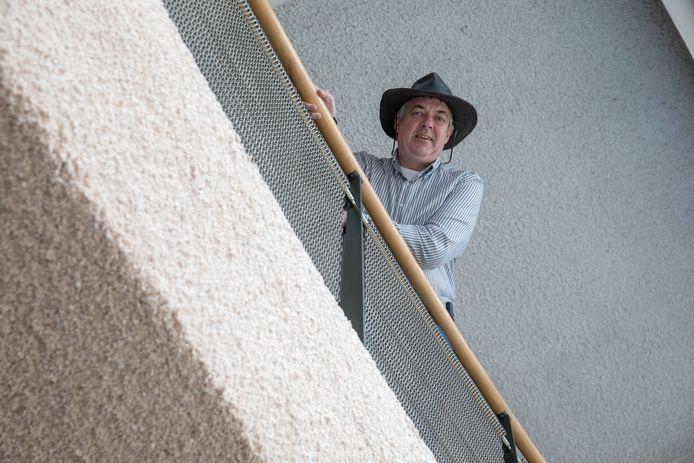 Bart Jansens, initiatiefnemer van het Tiny House project in Valkenswaard.