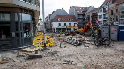Openbare werken in Knokke-Heist voor onbepaalde tijd stilgelegd