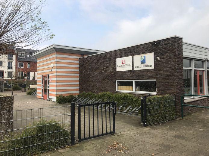 Een van de twee locaties van de Willibrordschool in Bergschenhoek, die al voor de lockdown sloot vanwege de vele besmettingen.