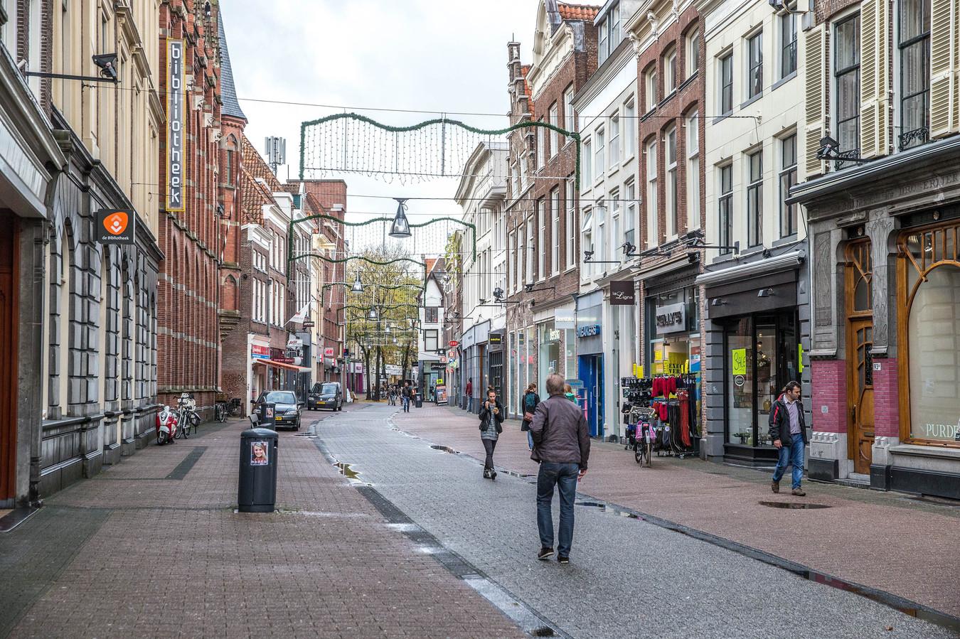De Diezerstraat in Zwolle.