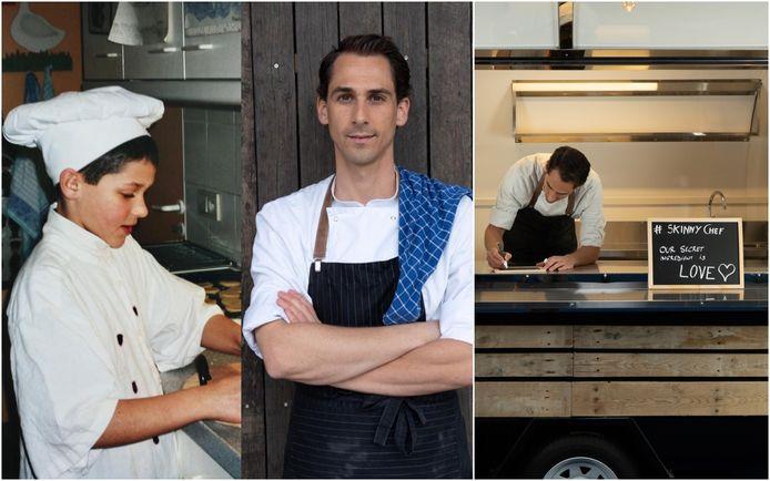 Alexander Forton (29) wil met Skinny Chef gezonde streetfood aanbieden.