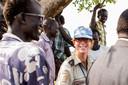 Linda in Zuid Soedan