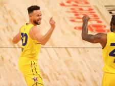 Team Lebron verslaat Team Durant in feestduel NBA