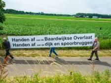 Nieuwe acties tegen afgraven fietsspoordijk