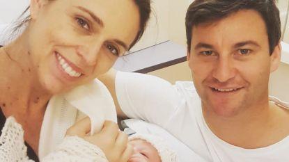 Nieuw-Zeelandse premier Jacinda Ardern bevallen van eerste kind
