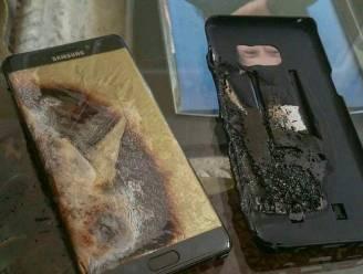 Afmetingen batterij aan basis van problemen Samsung Galaxy Note 7