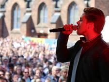 Dré Hazes van podium na bierdouche in Arnhem: 'Jullie hebben het zelf verpest'