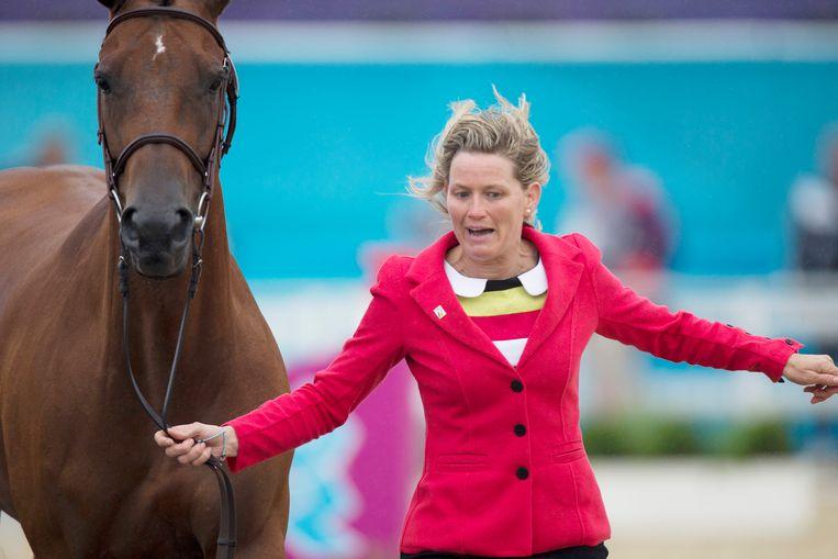 Archieffoto: Karin Donckers op de Olympische Spelen in Londen